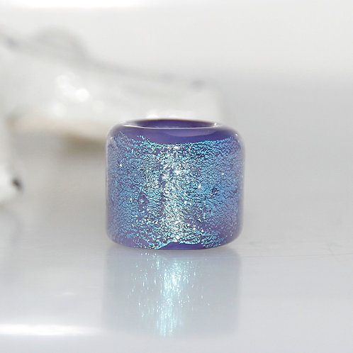 Lavender Shimmer Dread Bead 7mm Hole