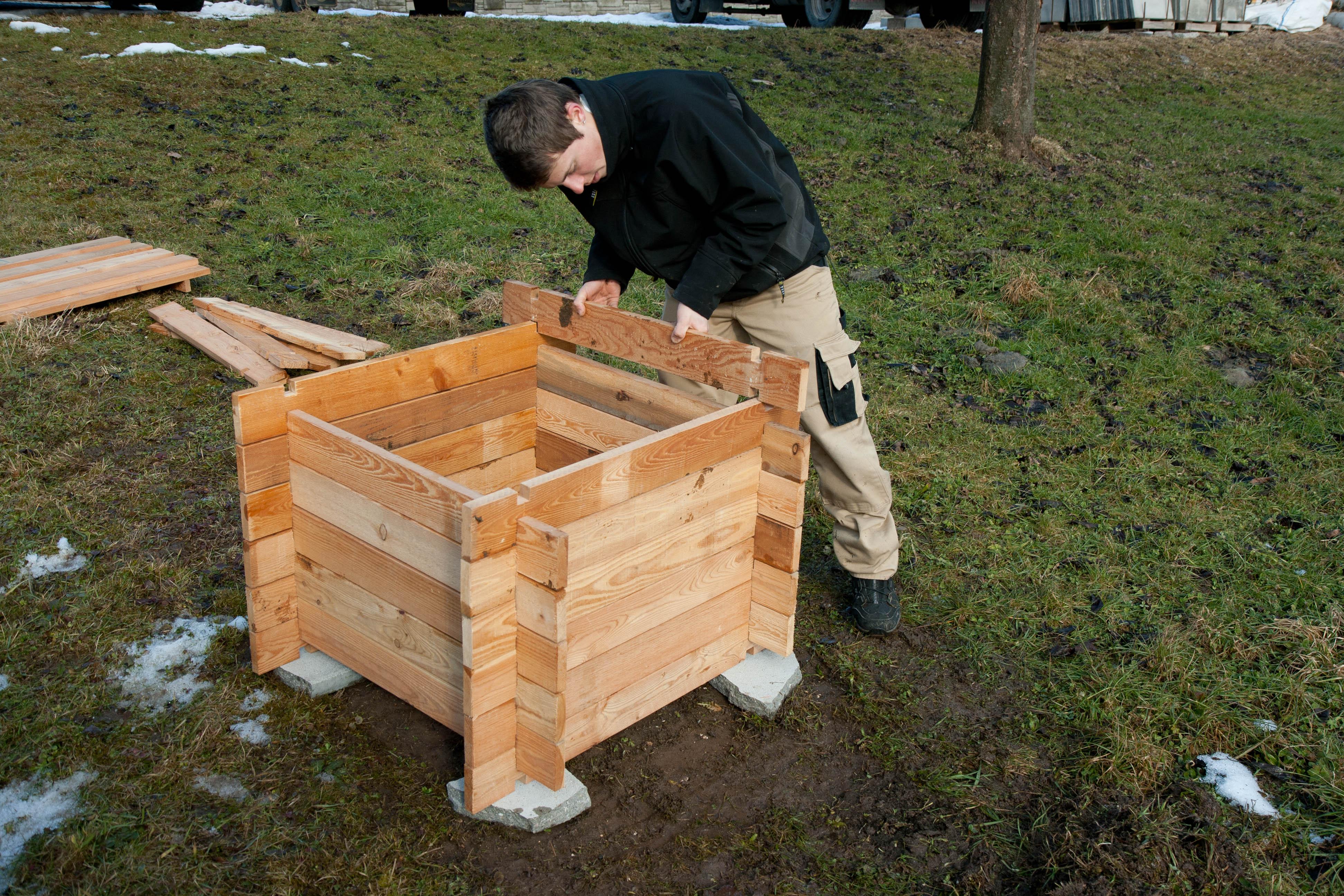 Natur-Kompost-Express Aufbau