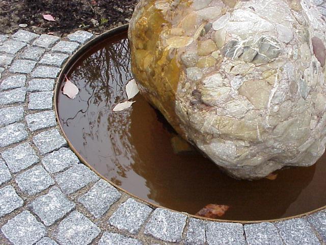 Brunnen in der Gartengestaltung
