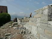 Gartenbau, Trockenmauer