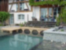 Schwimmteich mit Teichfolie