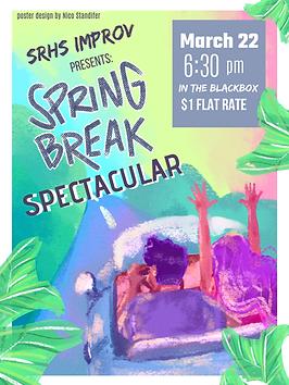 SRHS improv poster spring break.png