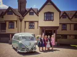 Vintage VW Splitscreen Wedding Hire