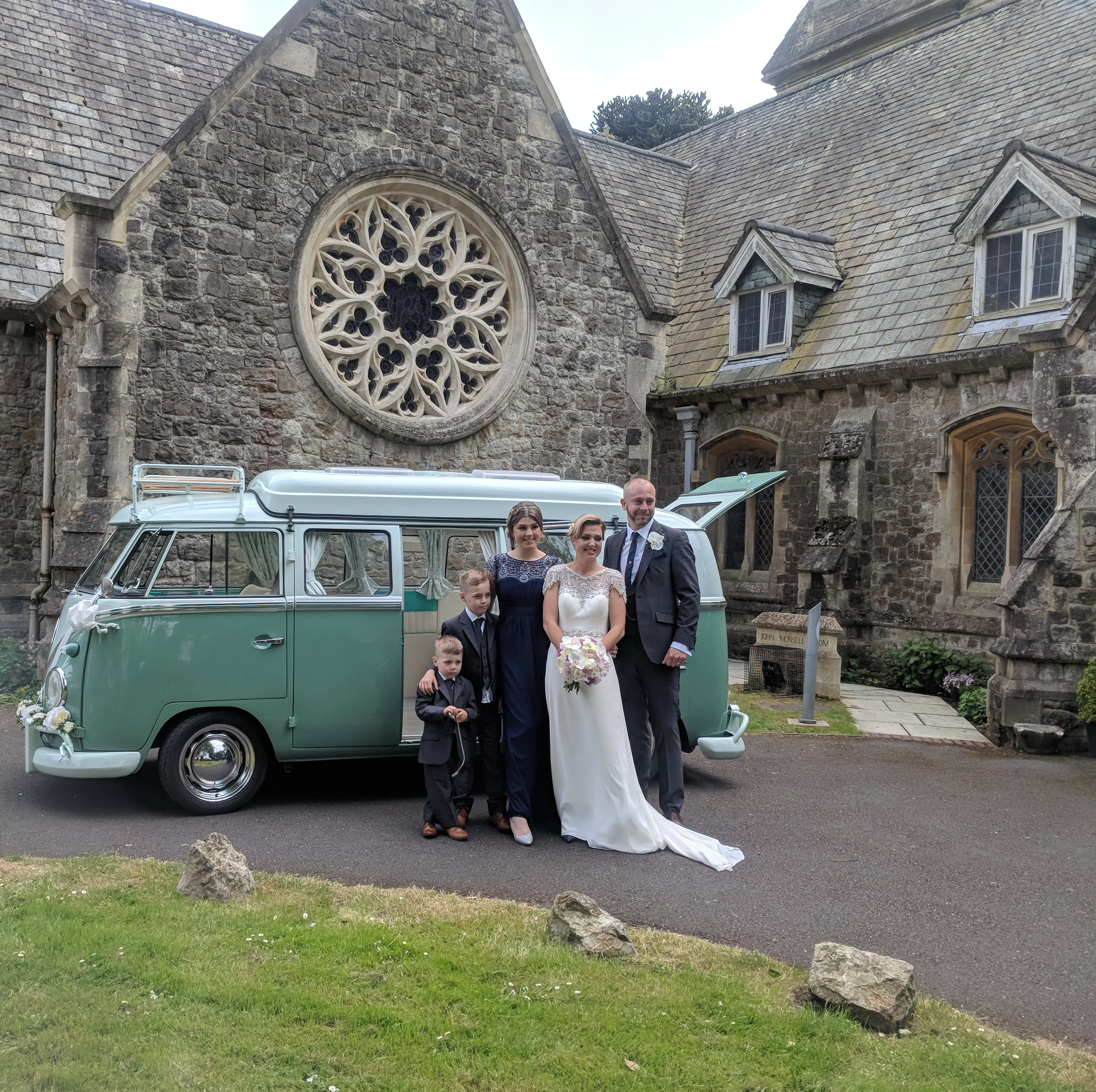 Vintage VW Splitscreen Wedding Hire