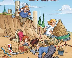BD en compétition : Les Arkéos Tome 1 Pleins les fouilles !