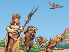 [Compétition BD 2021] - Roquebrune-sur-Argens, Tome 1, La préhistoire