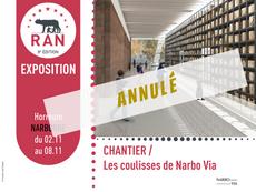 [Expo] Chantier / Les coulisses du Narbo Via