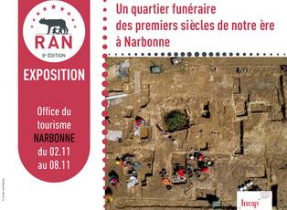 [Expo] Un quartier funéraire des premiers siècles de notre ère à Narbonne