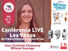 [LIVE] Vendredi soir : Conférence Les Vénus