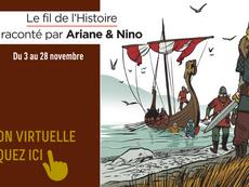 Lancement de l'exposition Ariane & Nino