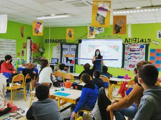 Photos des ateliers scolaires