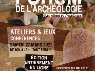 Partenariat avec le Forum de l'archéologie à Castres