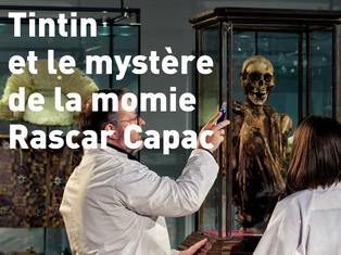 Film en compétition : Tintin et le mystère de la momie Rascar Capac