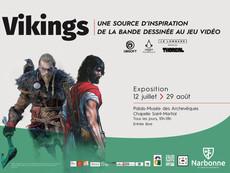 [EXPO été 2021] Vikings, une source d'inspiration de la bande dessinée au jeu vidéo