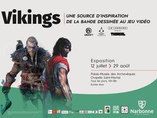 [EXPO] Vikings, une source d'inspiration de la bande dessinée au jeu vidéo