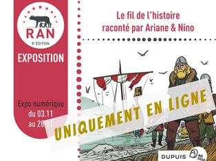 [Expo] Le fil de l'histoire raconté par Ariane & Nino