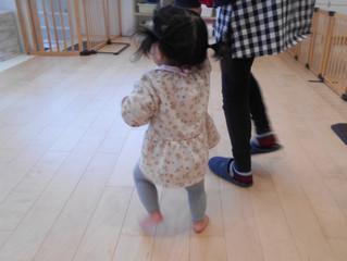 ナーシェリ大森:歩けるようになったよ👣