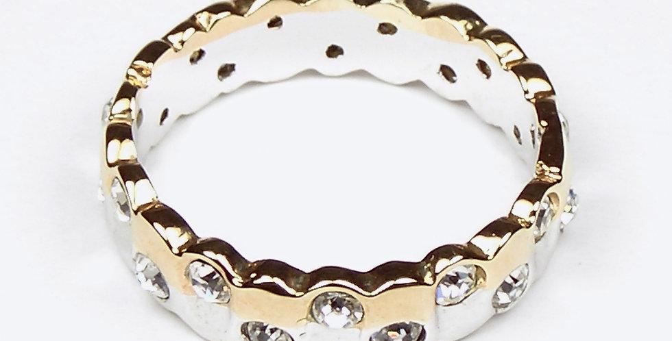 677 Zircon Wedding Ring