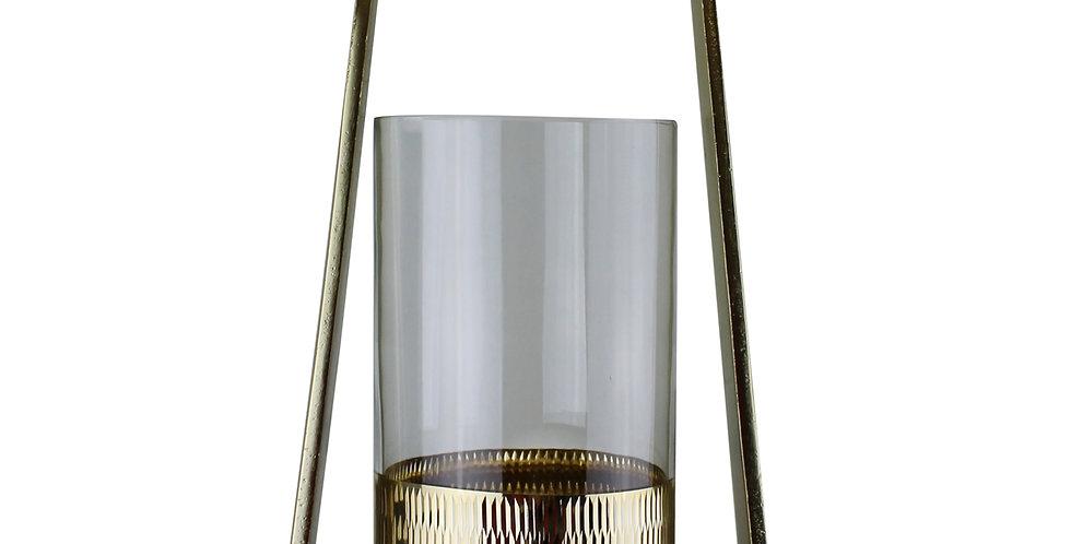 Gold Metal Candle Holder 41cm