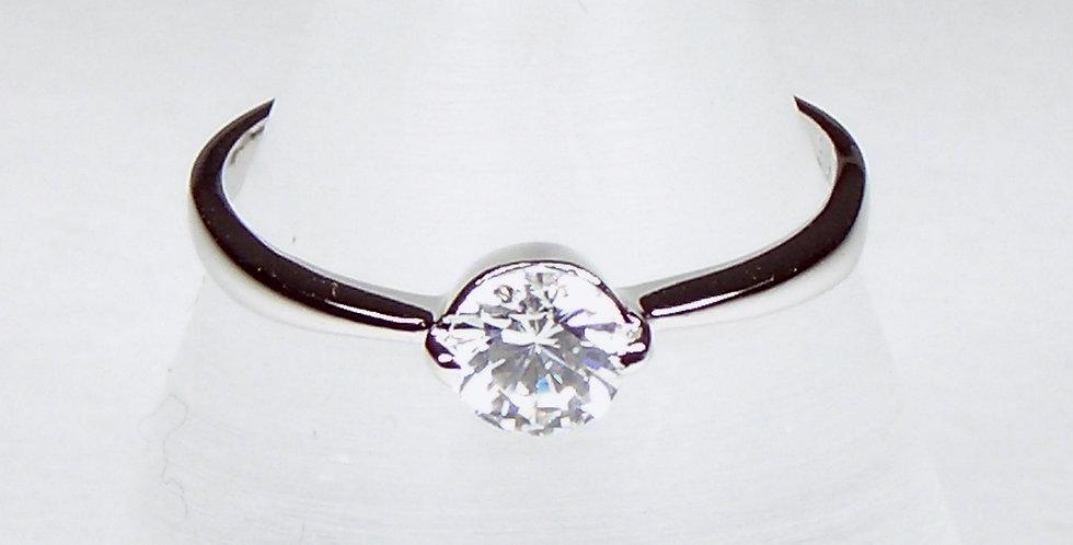 8763 Ladies Solitaire Ring