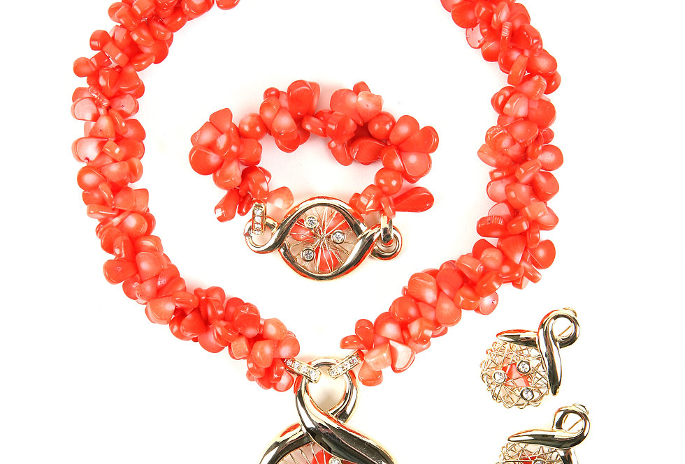 Dazzle-Coral Florets Set