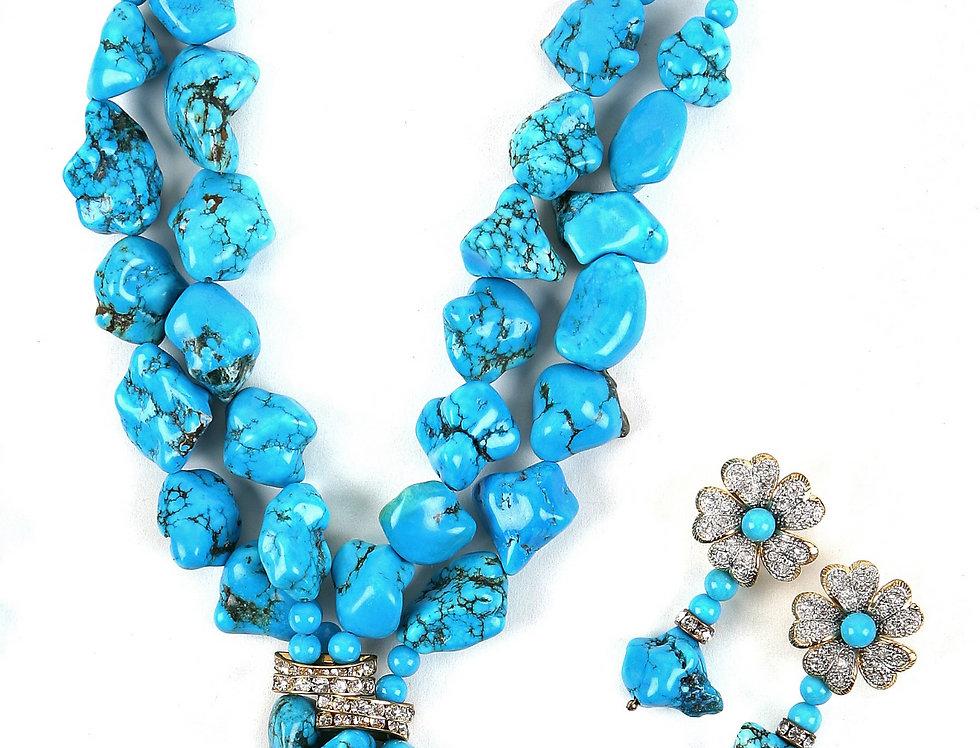 Marbled Turquoise Set