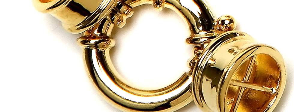 Multi Row Gold Clasp