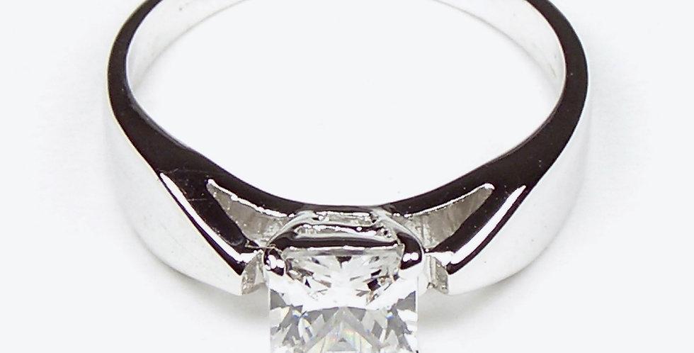 3901 Square Zircon Ring
