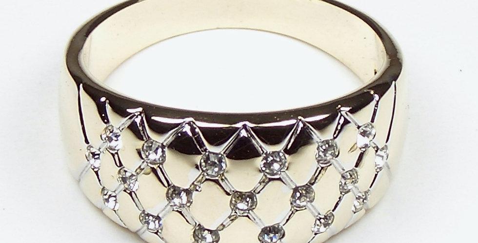 Criss-Cross Ladies Ring