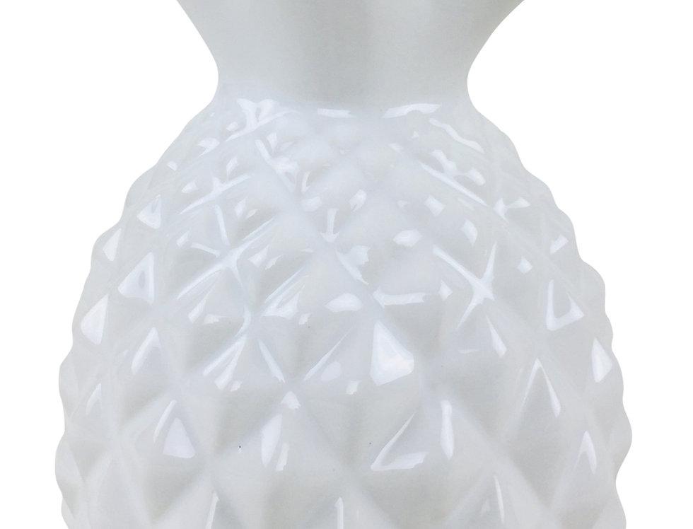 White Gloss Pineapple 23cm