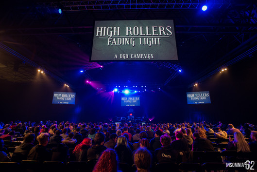 High Rollers DnD Live