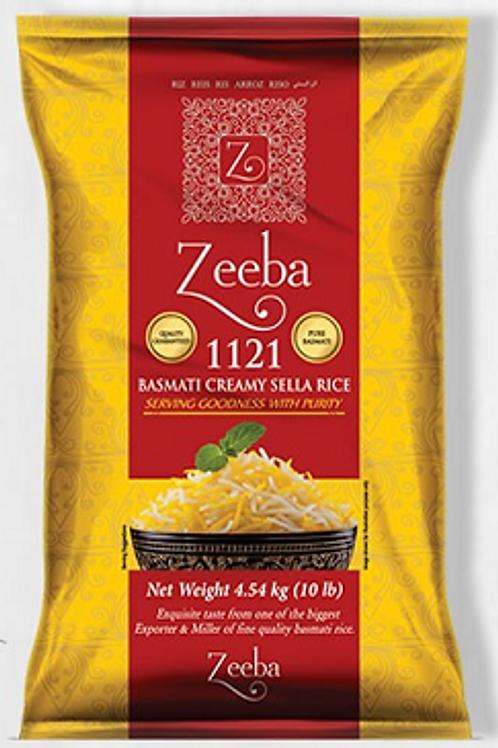 ZEEBA EXTRA LONG 1121 BASMATI CREAMY SELLA RICE