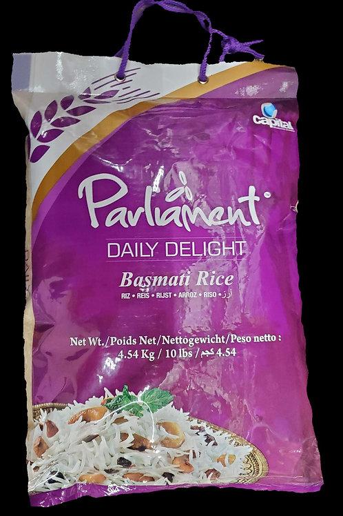 PARLIAMENT DAILY DELIGHT BASMATI RICE 10LB