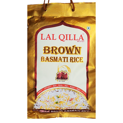 LAL QILLA BROWN BASMATI RICE 10LB