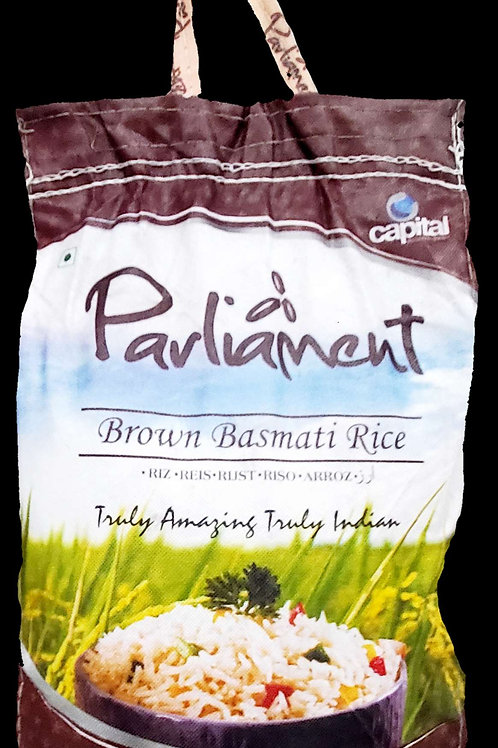 PARLIAMENT BROWN BASMATI RICE 10LB