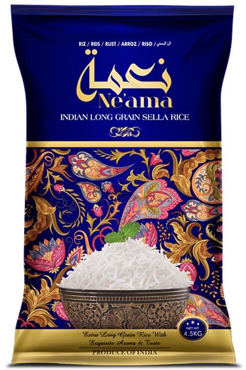 NE'AMA LONG GRAIN SELLA RICE 10LB