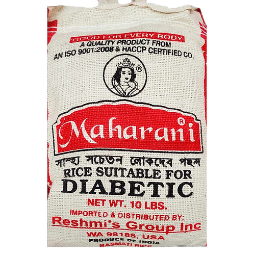 MAHARANI RICE SUITABLE FOR DIABETIC 10LB