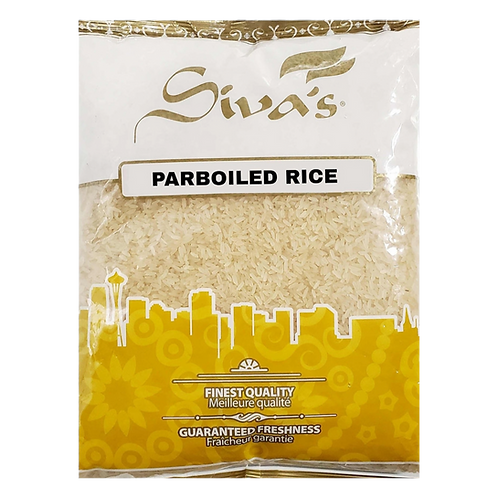 SIVA'S PARBOILED RICE 4LB