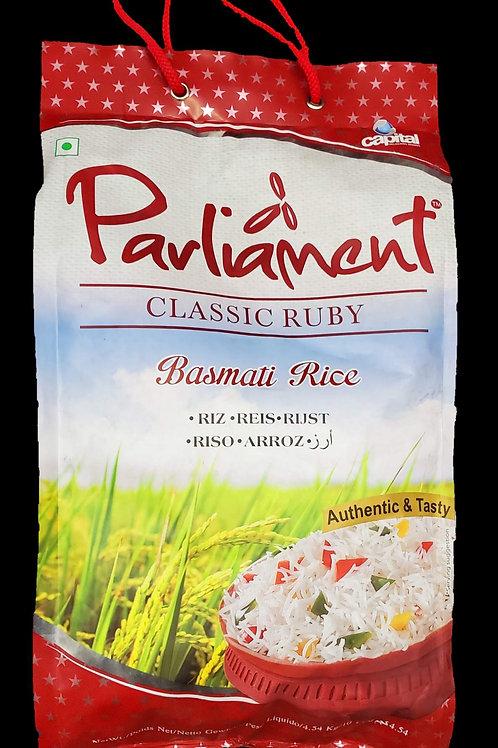 PARLIAMENT CLASSIC RUBY BASMATI RICE 10LB
