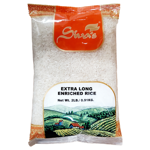 SIVA'S EXTRA LONG GRAIN ENRICHED RICE 2LB