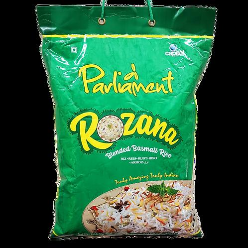 PARLIAMENT ROZANA BLENDED BASMATI RICE 8LB