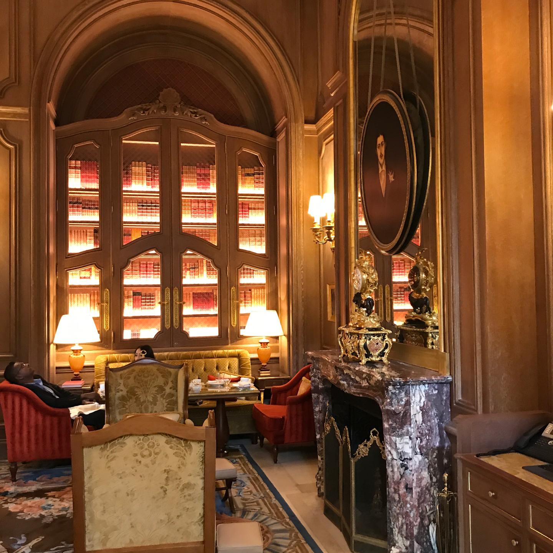 Lobby of the Ritz Paris