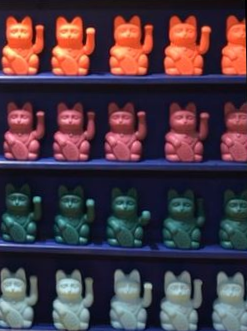 Assorted Color Chinese Lucky Cats
