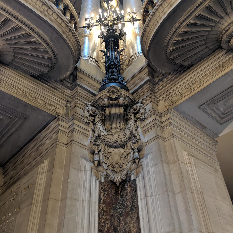 Exterior Carving at the Palais Garnier Paris Opera House