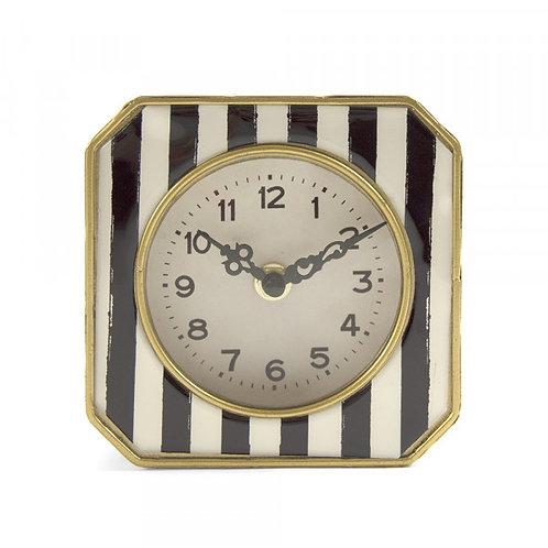 Striped Clock
