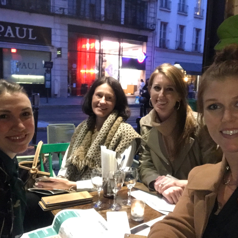 Laura Fox Interior Design Team at Papadoom Kitchen Paris