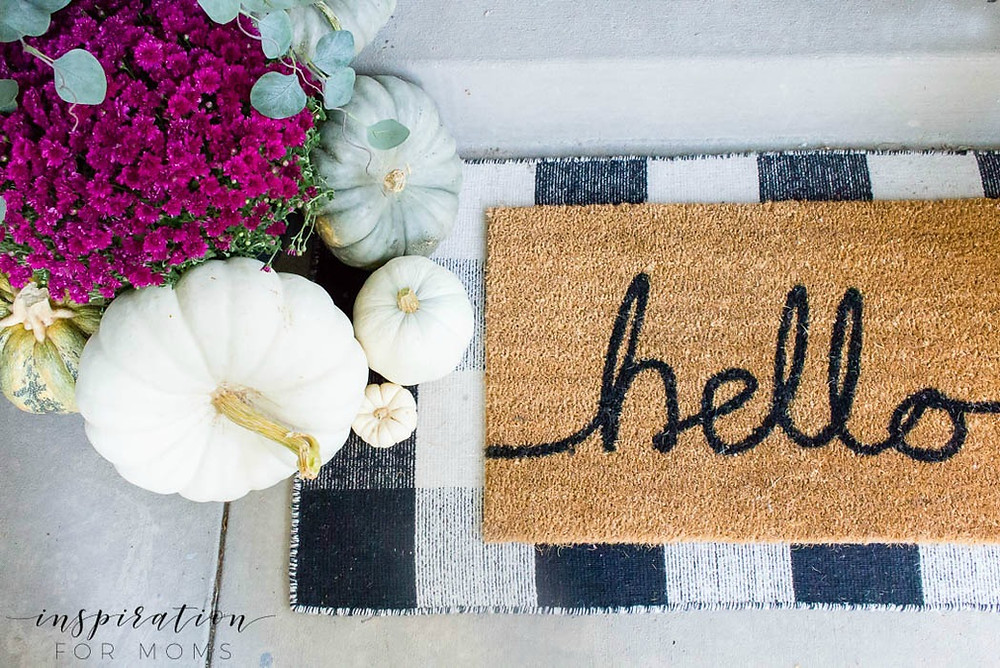 layered doormat ideas