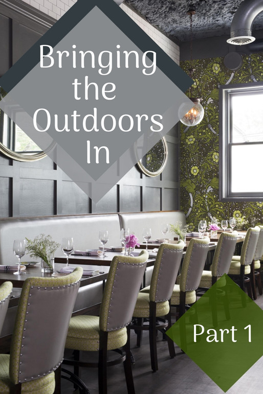 6 TIPS FOR BRINGING THE OUTDOORS IN (Part 1)