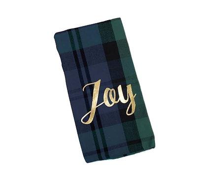 Plaid Joy Tea Towel