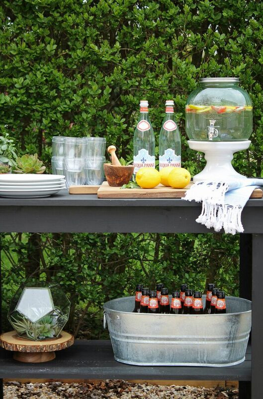 Labor Day Outdoor Entertaining by City Farmhouse